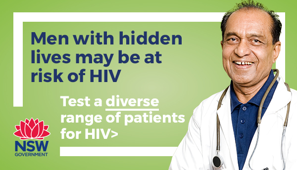 Test a diverse range of patients for HIV
