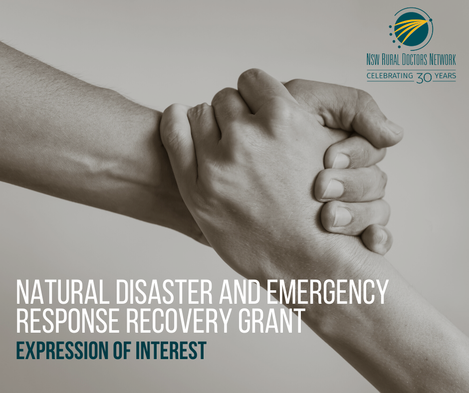 NSW RDN opens Natural Disaster and Emergency Response Recovery Grant EOI