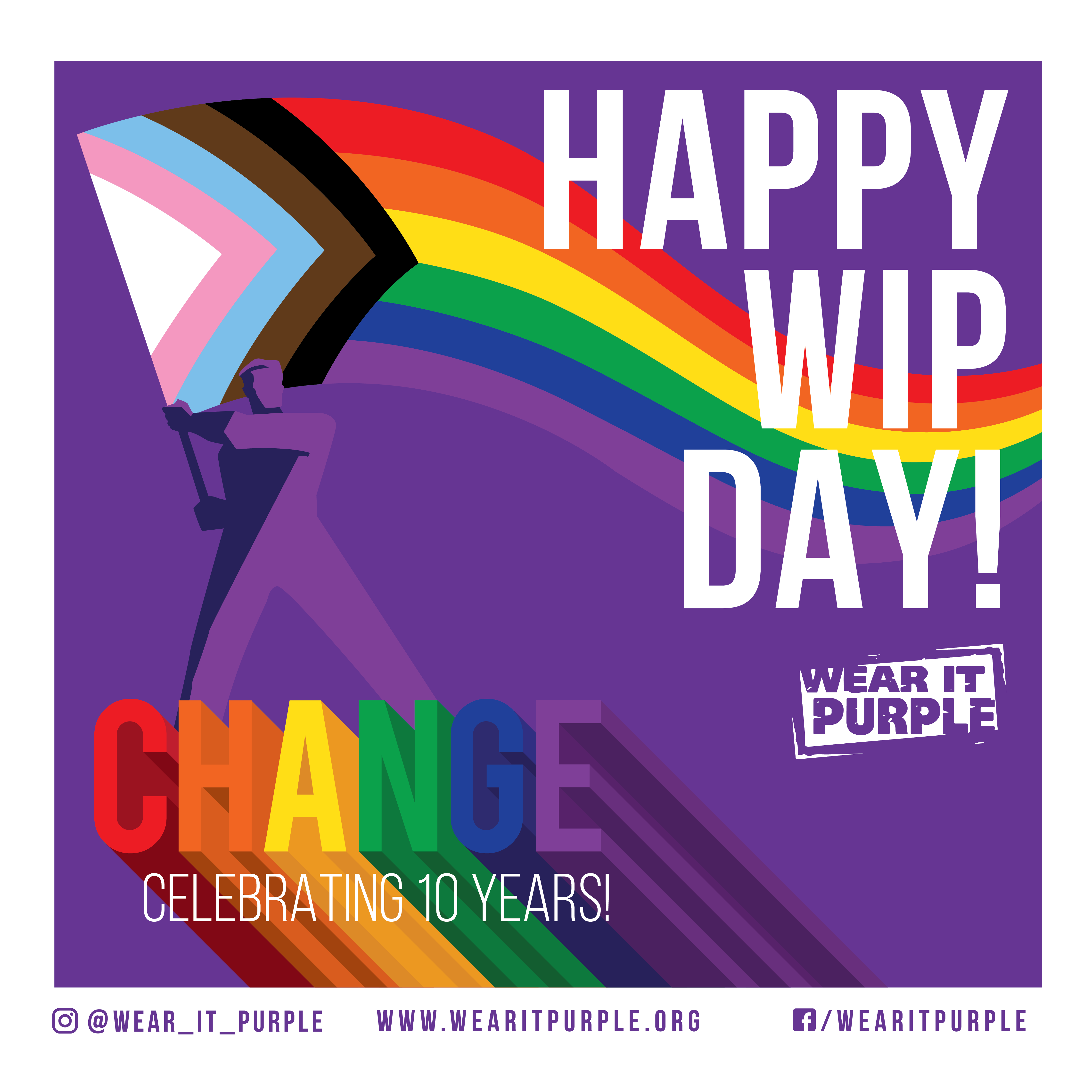 Let's celebrate LGBTIQ+ young Australians on Wear It Purple Day (and every day!)