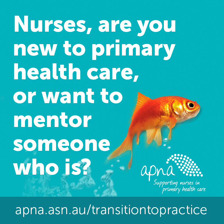 Nurses, are you new to primary health care or wanting to mentor?