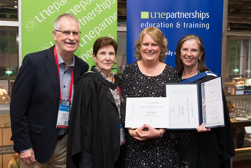 Gail Lloyd given special award at Practice Management Conference 2018